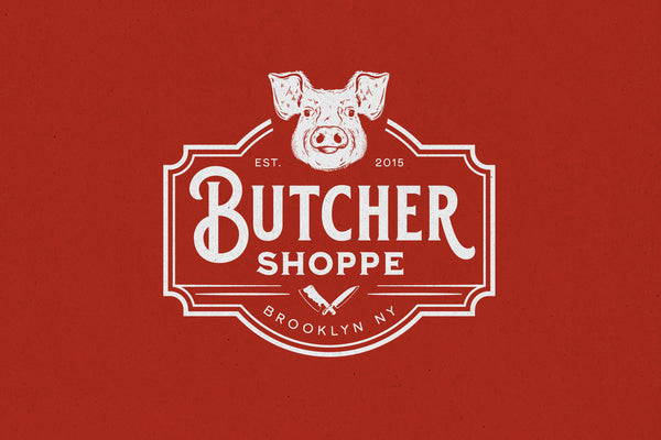 Butcher Shoppe – Logo Template - Heritage Type Co.