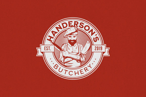 Butchery – Logo Template - Heritage Type Co.