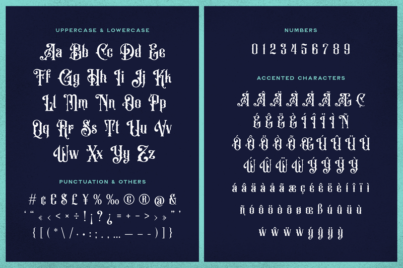 Old Alfie Font Duo - Heritage Type Co.