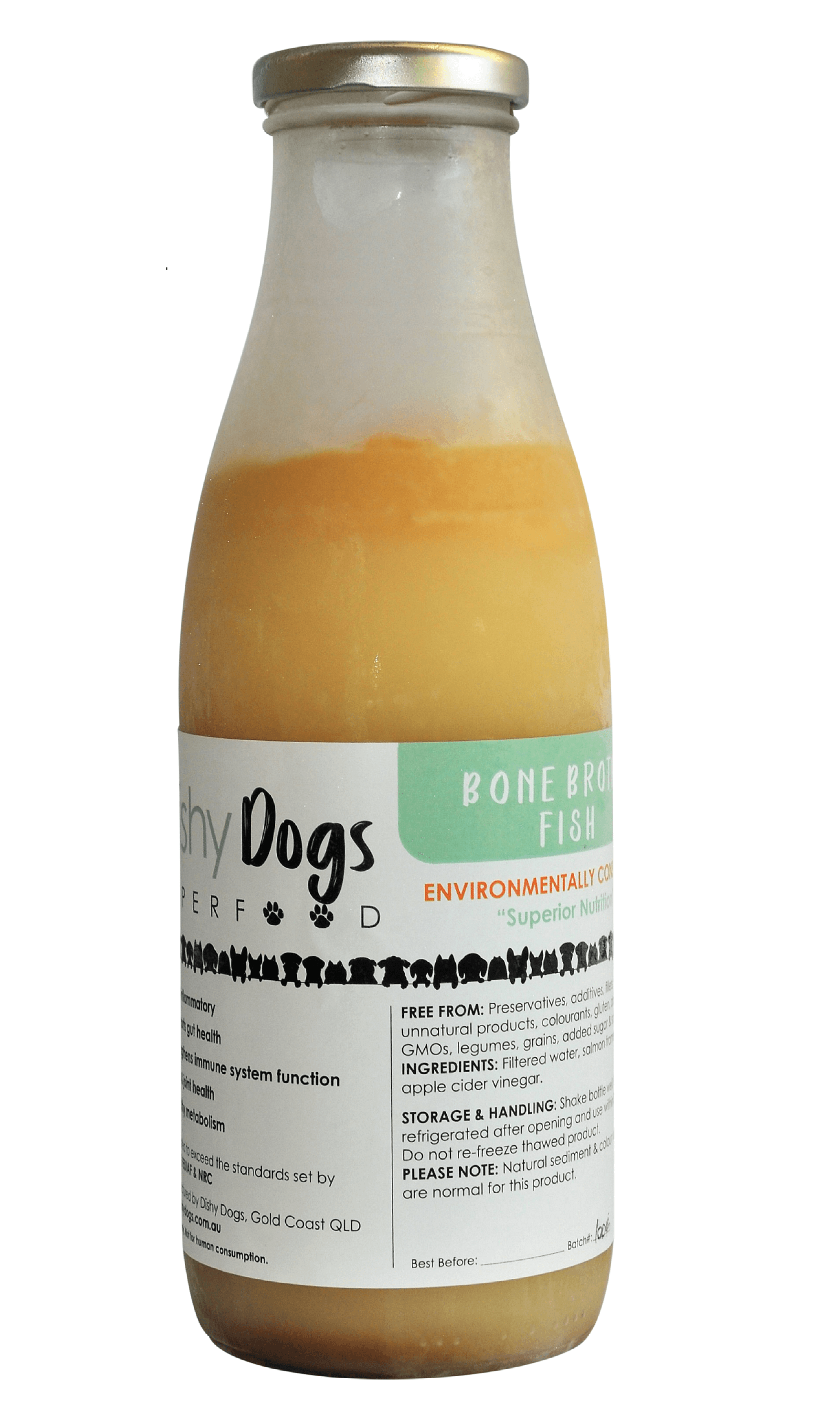 Dishy Dogs Bone Broth Nutrition