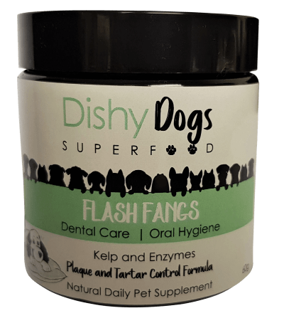 Flash Fangs, Tartar control for dogs, plaque control for dogs