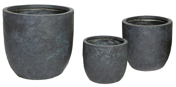 Arizona Egg Pot Graphite S3 D27/42H26/41,5