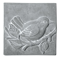 Deko Wallhanger Bird Grey L30W25H4