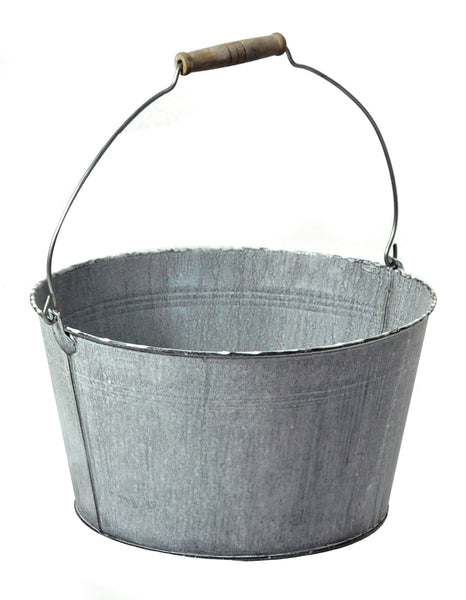 Scott Low Bucket Old Grey D31H18