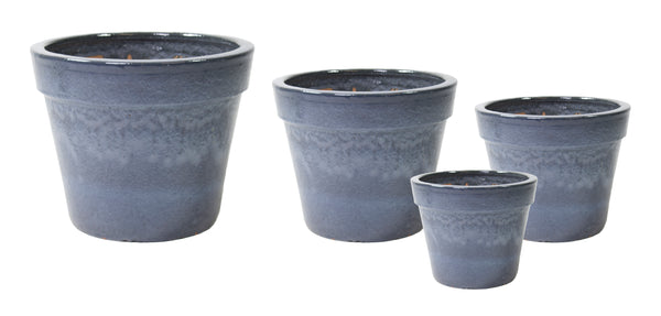 Glazed Basic Pot Ant. Grey S4 D18/47H16/39