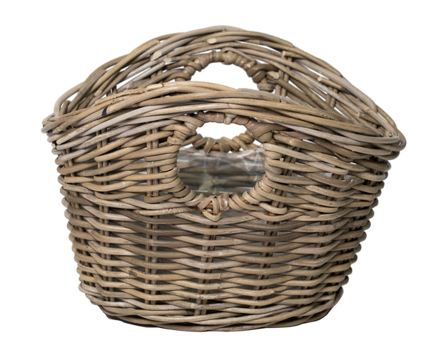 Livia Shopping Basket -F- Natural L45W35H30