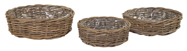 Kubu Round Low Basket -F- S3 D35/45H13/15