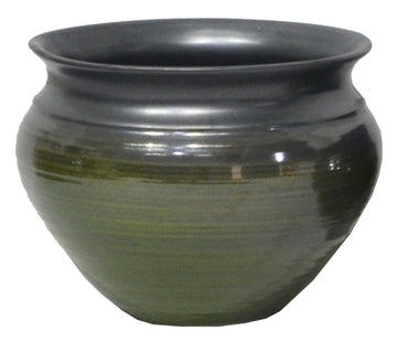 Emma Belly Pot Green D21H16