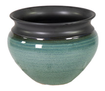 Emma Belly Pot Blue D21H16