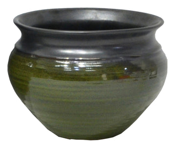 Emma Belly Pot Green D18H13
