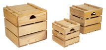 Shelby Crate With Cover Natural S3 W30/50H30/50