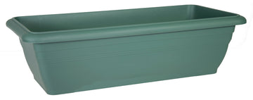 Linea Balcony Box Basic Cypress Green L45W21H18