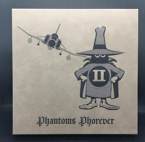 F-4 Phantoms Phorever Customizable Leatherette Wall Decor