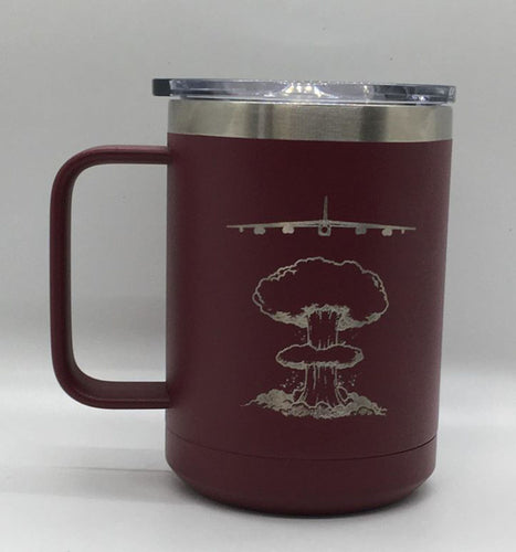 B-52 BUFF Customizable 15 Oz Double Wall Coffee Mug
