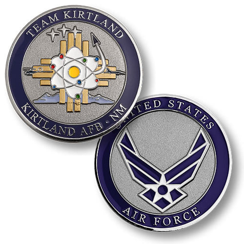 Kirtland AFB NM Nuclear Weapons Center (NWC)  - Challenge Coin - Medallion