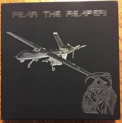 MQ-9 Fear the Reaper Customizable Leatherette Wall Decor