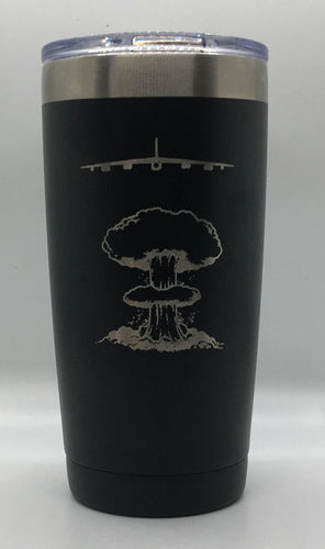B-52 BUFF Customizable 20 OZ Travel Mug Tumbler