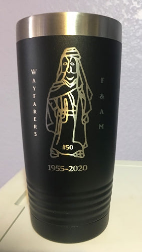 Wayfarers #50 Customizable 20 oz Tumbler