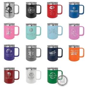 Custom 15 oz Vacuum Insulated Mug Design your own tumbler