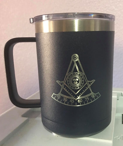 Mason Past Master 15 oz Mug Customizeable