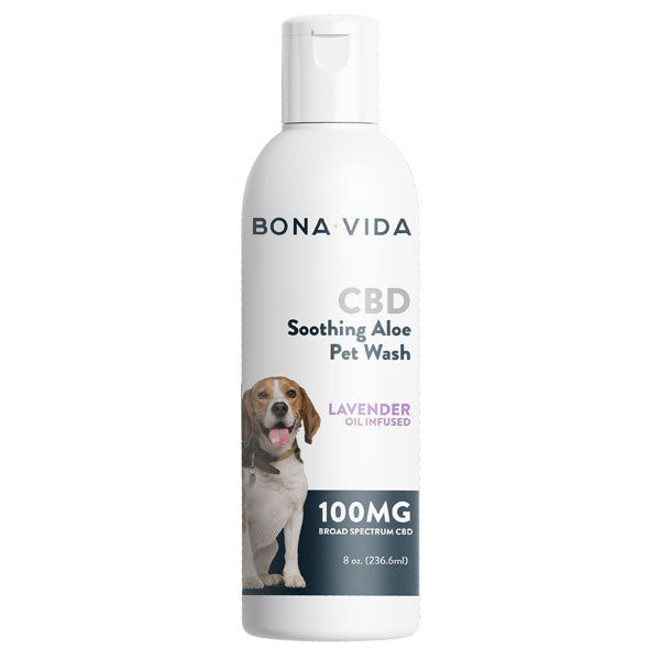 Bona Vida CBD Soothing Aloe Pet Wash