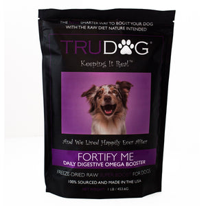 Fortify Me Freeze Dried Raw Food Topper for Dogs- 1 LB.