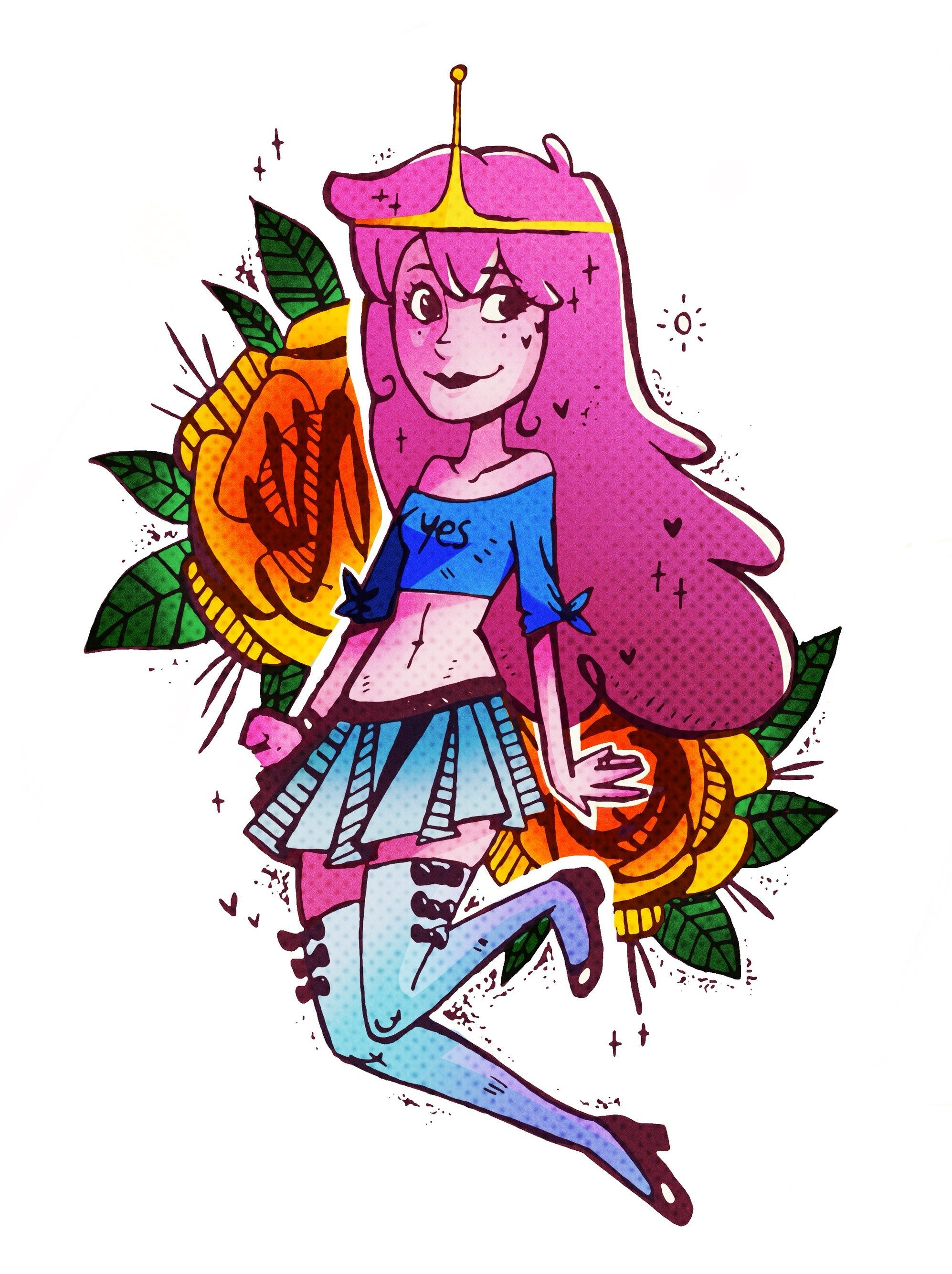 STICKER - Princess Bubblegum