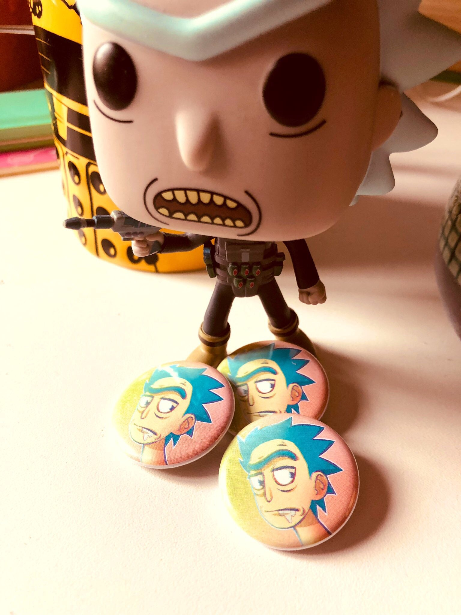 BADGE - Rick