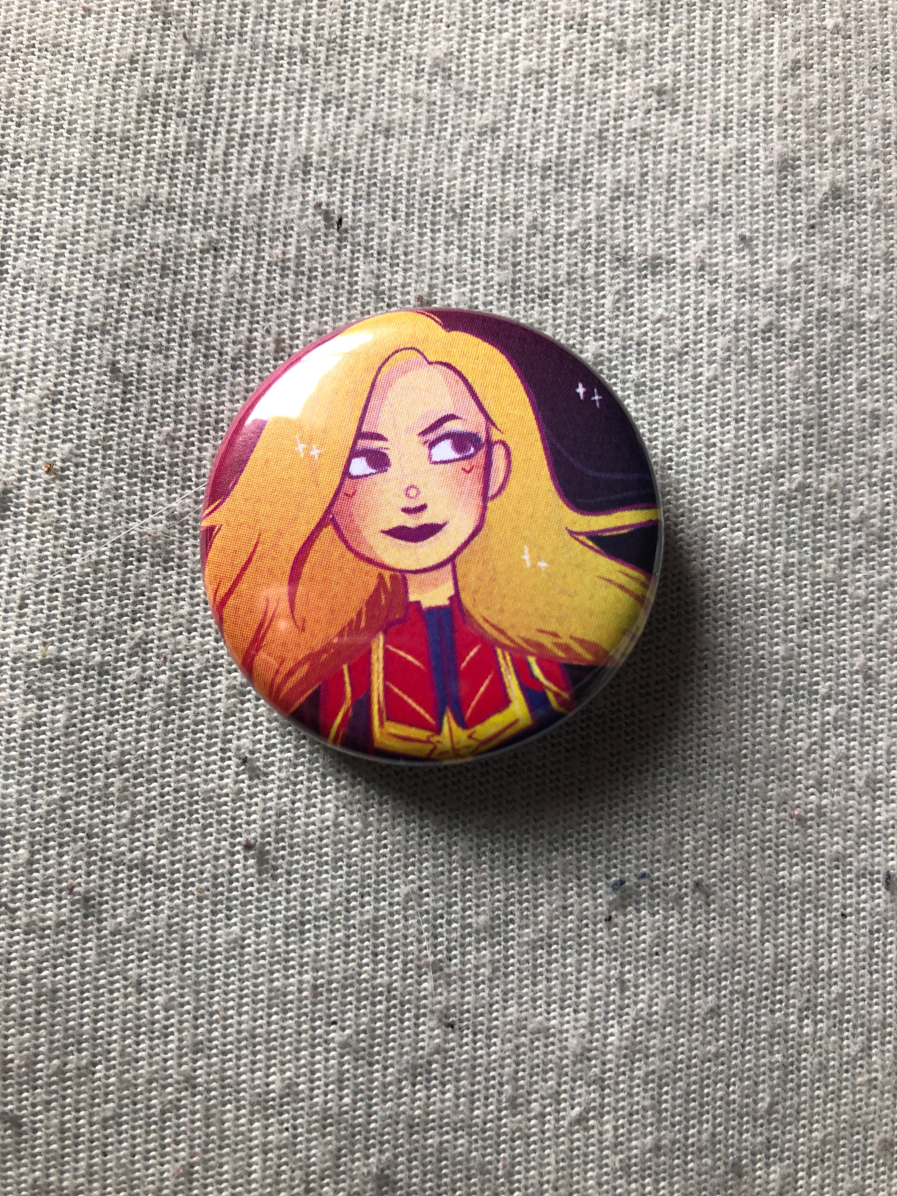 BADGE - Captain Marvel