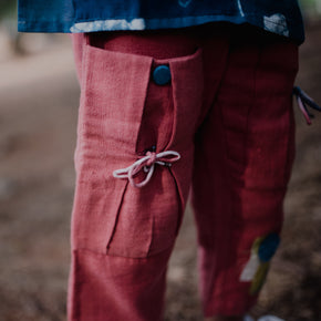 Indian Madder Botanical Dyed Trouser