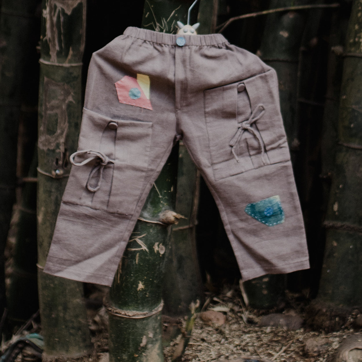 Eucalyptus Botanical Dyed Trouser