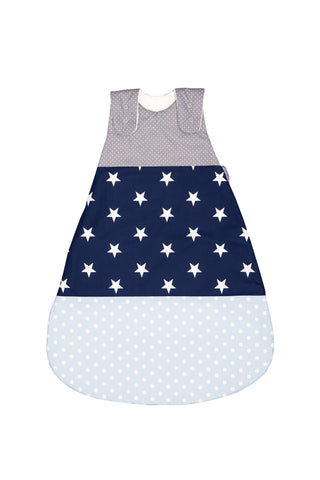 Sleep Sack – Baby Sleeping Bag, Wearable Blanket, Light Blue with Stars, 6-12 Months