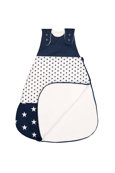 Sleep Sack – Baby Sleeping Bag, Wearable Blanket, Blue with Stars, 0-6 Months
