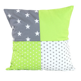 "Pillow Cover & Baby Pillow Case 20"" x 20"" - Green Grey"