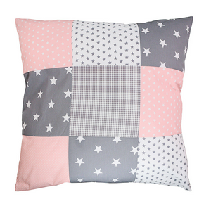 "Pillow Cover & Toddler Pillow Case 26"" x 26"" - Rose Grey"
