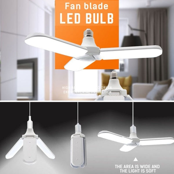 3 Fan Blade Led Bulb (Buy 1 Get 1 Free)
