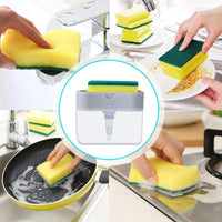 Magic Sponge Soap Dispenser