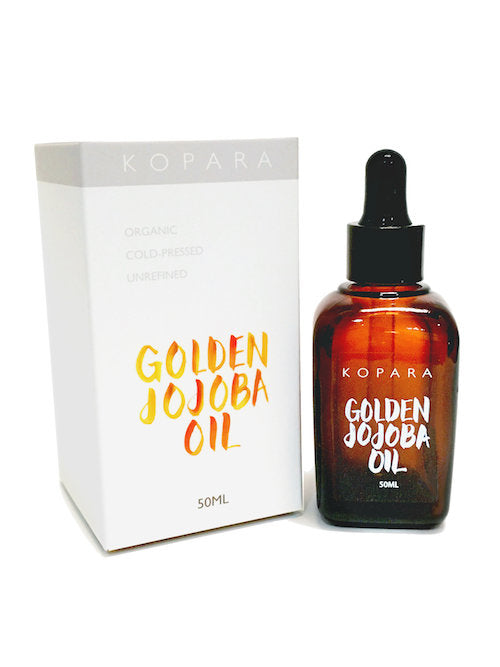 Kopara Golden Jojoba Oil Organic Cold Pressed Pure Bottle
