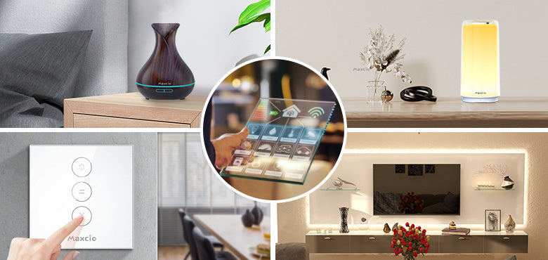 Smart home with voice control