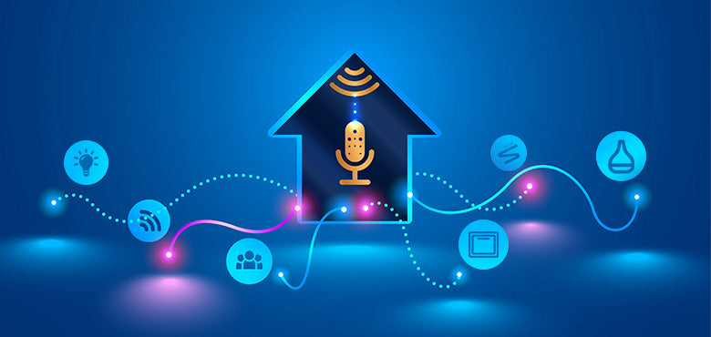 Smart Home Devices with Voice Assistants
