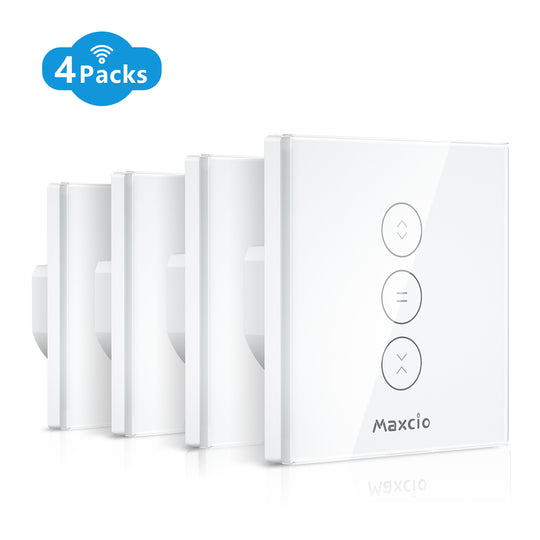 Maxcio WiFi Blinds Switch-Vertical (4 pack)