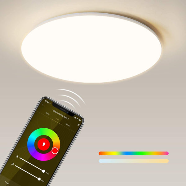 Maxcio WiFi RGBW Ceiling Light