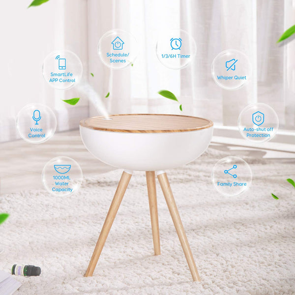 Maxcio Alexa Smart 1000ML Essential Oil Diffuser for Aromatherapy