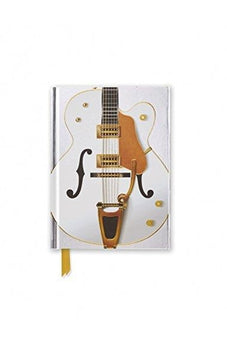 White Guitar (Foiled Pocket Journal) (Flame Tree Pocket Books) 9781786641069