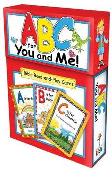 ABC for You and Me!: Bible Read-And-Play Cards 6006937084339