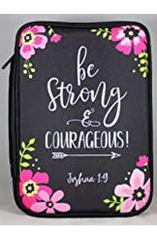 Be Strong & Courageous! Bible Cover 23347XL 812839023347