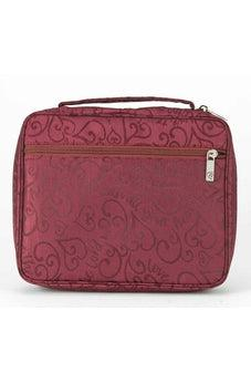Love the Lord heart Bible Cover (Burgundy, XL) 23743XL 812839023743