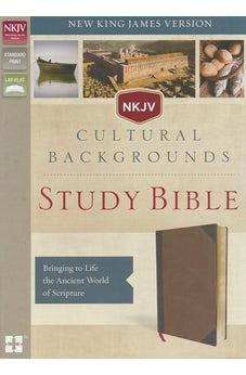 NKJV, Cultural Backgrounds Study Bible, Leathersoft, Brown, Red Letter Edition: Bringing to Life the Ancient World of Scripture