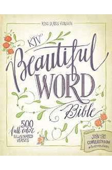 KJV, Beautiful Word Bible, Hardcover, Red Letter Edition: 500 Full-Color Illustrated Verses 9780310003724