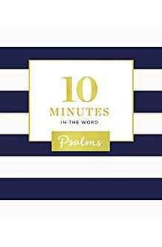 10 Minutes in the Word: Psalms 9780310091257